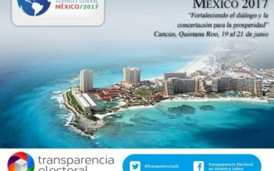 """Transparencia Electoral participará en la """"47ª Asamblea General de la OEA México 2017"""""""