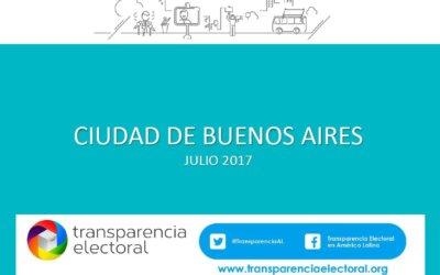 Encuesta de Transparencia Electoral en la Ciudad Autónoma de Buenos Aires, 2017