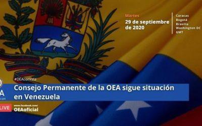Transparencia Electoral fue invitada a exponer en la reunión de seguimiento de Venezuela del Consejo Permanente de la OEA