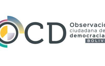 Transparencia Electoral junto a organizaciones de la sociedad civil de Bolivia conforman la Alianza OCD