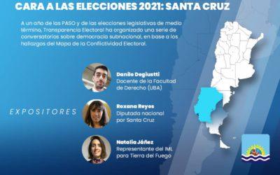 Transparencia Electoral celebrará un conversatorio sobre elecciones y democracia subnacional en Santa Cruz