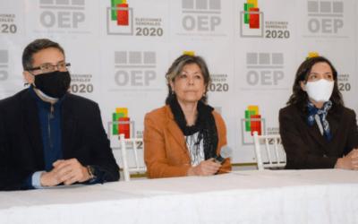 Presidente del TSE recibió informe preliminar de la OCD Bolivia y destaca labor de observación