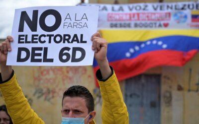 Transparencia Electoral exhorta a la comunidad internacional a desconocer los resultados de las elecciones legislativas de Venezuela