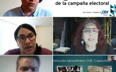 Transparencia Electoral celebró un webinar sobre las irregularidades de las elecciones legislativas de Venezuela