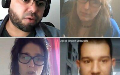 Transparencia Electoral presentó «Así se vota en Venezuela» en un evento de la carrera de ciencia política de la UBA