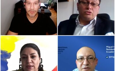 """Transparencia Electoral celebró el webinar """"Elecciones Ecuador 2021: integridad electoral, transparencia y sociedad civil"""""""