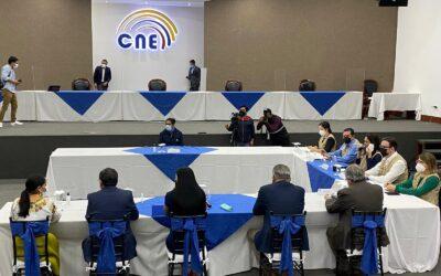 Transparencia Electoral insta a actores políticos de Ecuador a esperar el resultado definitivo de las elecciones del 7 de febrero