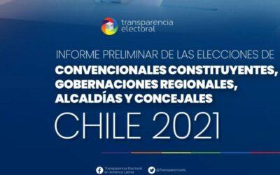 Informe Preliminar de las Elecciones de Convencionales Constituyentes, Gobernadores/as, Alcaldes/as y Concejales/as