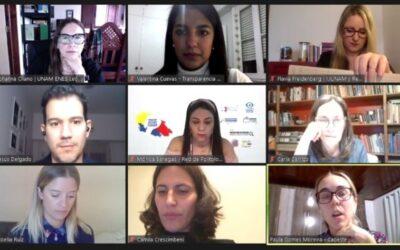 Lanzamiento del «Observatorio de Mujeres y Política» de Transparencia Electoral