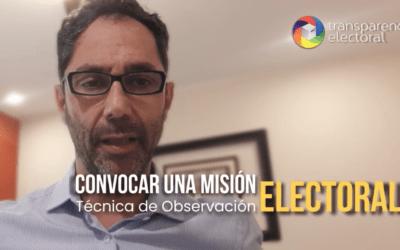 Transparencia Electoral solicita al oficialismo y la oposición de Argentina acordar la convocatoria una Misión de Observación Electoral de la OEA