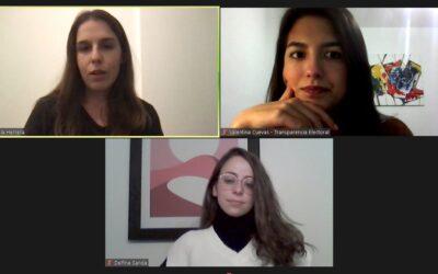 #8voEncuentro del «Programa para el Fortalecimiento del Liderazgo Democrático de las Mujeres en América latina» del Observatorio de Mujeres y Política de Transparencia Electoral