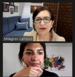 Transparencia Electoral celebró la conferencia «Reforma electoral en Perú» a cargo de Milagros Campos